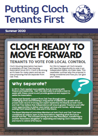 Putting Cloch Tenants First